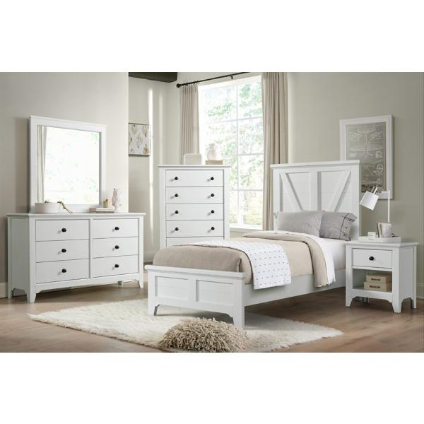Tahoe Twin Panel Bed