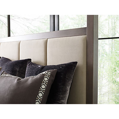 Rachael Ray Home - Highline Queen Upholstered Poster Bed