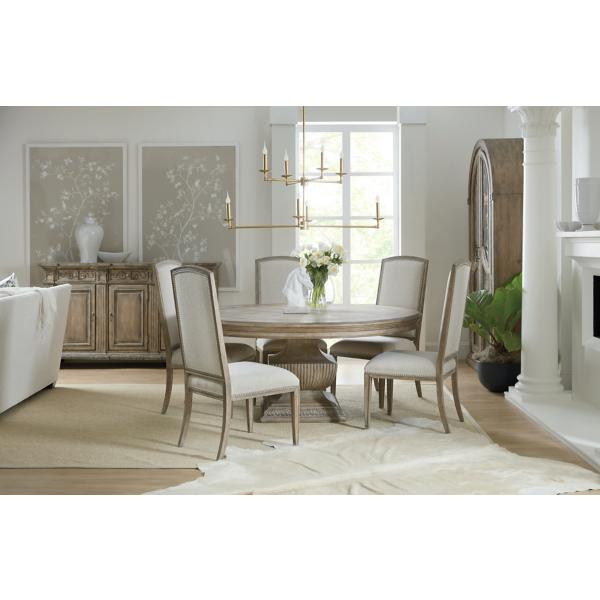 Castella 60 Inch Round Dining Table