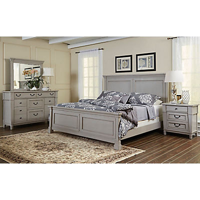 Stone Harbor King Panel Bed