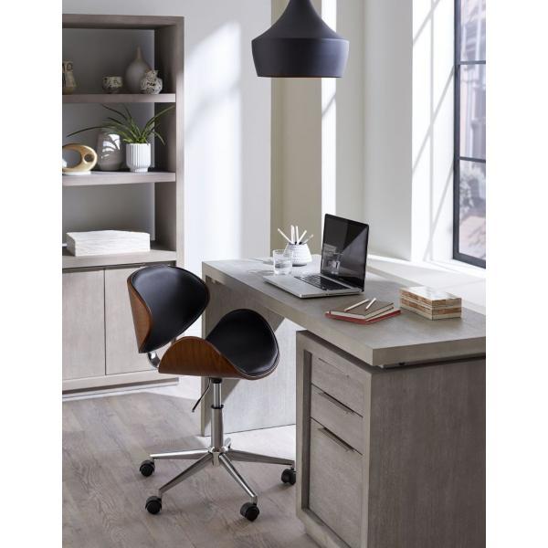 Orion Pedestal Desk - MINERAL