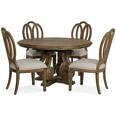 Solana Round Pedestal Dining Table