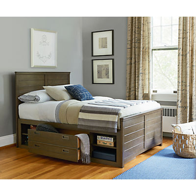 Varsity Reading Bed with Underbed Storage - FULL