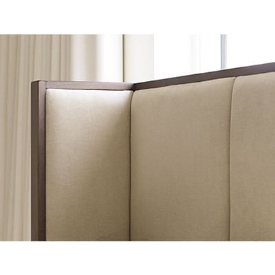Rachael Ray Home - Highline Upholstered Shelter Bed - QUEEN
