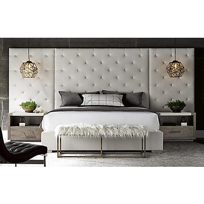 Modern-Charcoal Queen Brando Wall Bed