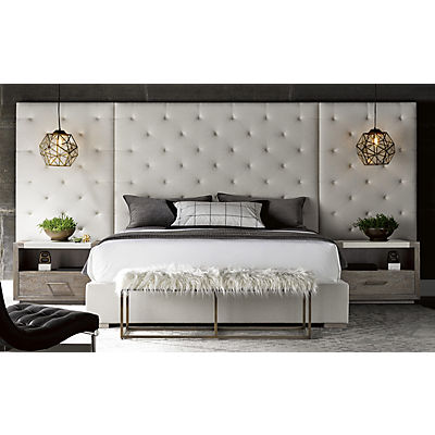 Modern-Charcoal King Brando Wall Bed