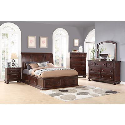 Hanover Sleigh All Around Storage Bed
