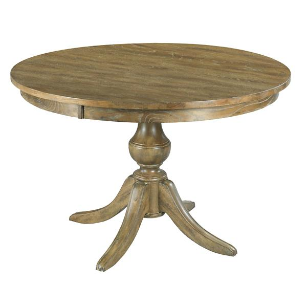 The Nook 44-inch Round Table - OAK