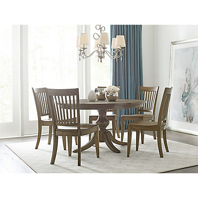 "The Nook Oak 54"" Round Table"