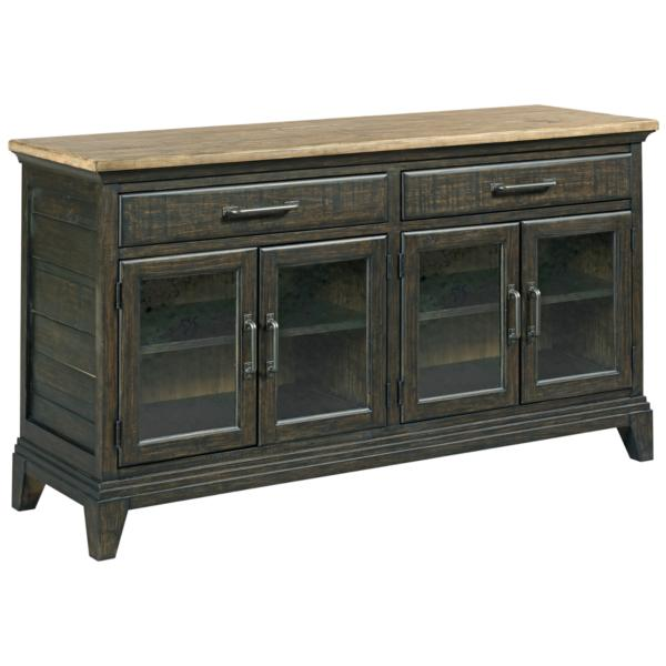 Plank Road Rockland Hutch & Buffet - CHARCOAL