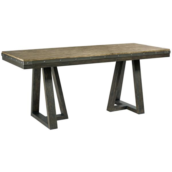 Plank Road Kimler Counter Height Dining Table - CHARCOAL