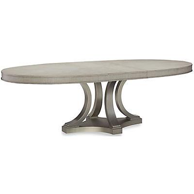 Rachael Ray Cinema Oval Pedestal Dining Table