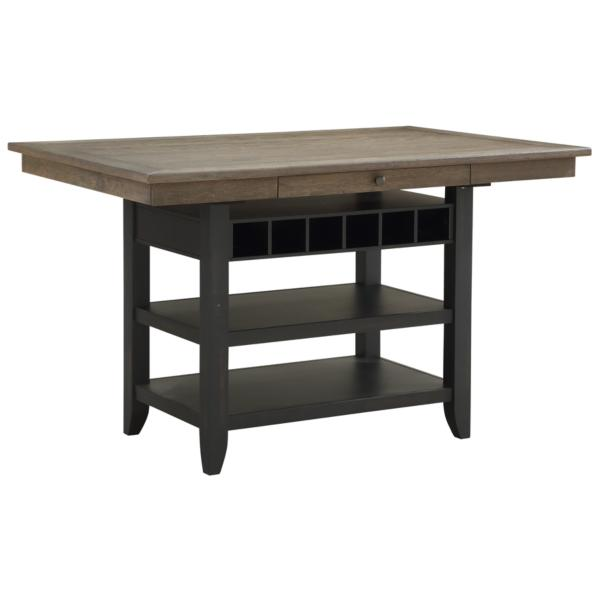 Garth Black Base Counter Table