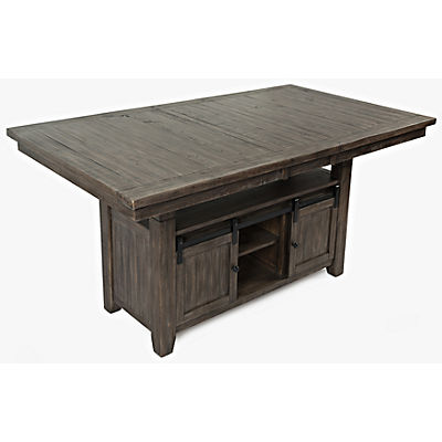 Ginger High-Low Dining Table - BARNWOOD