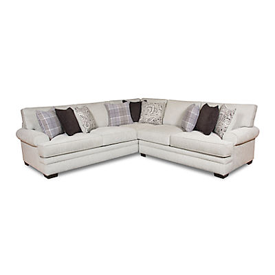 Belle 2-Piece Sectional (RAF Loveseat)