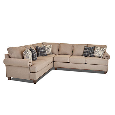 Woodlands 2-Piece Sectional (RAF)