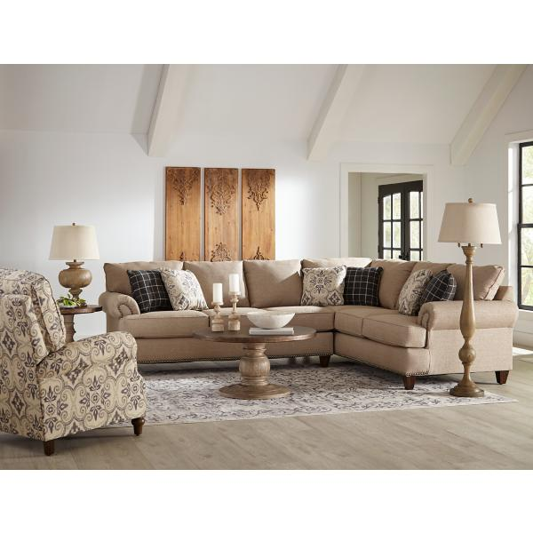 Woodlands 2-Piece Sectional (LAF)
