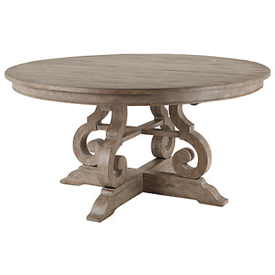 Treble 60inch Round Dining Table