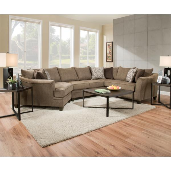 Albany 3-Piece Sectional - TRUFFLE