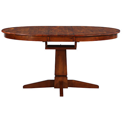 Mango Round to Oval Dining Table