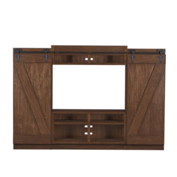 Leland Entertainment Wall - Brandy
