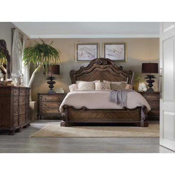 Rhapsody King Panel Bed