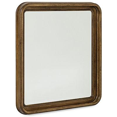 New Lou Cognac Landscape Mirror