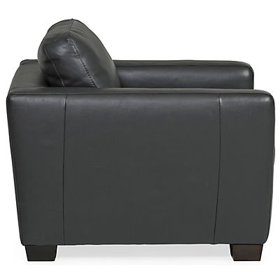 Denver Leather Chair - ANTHRACITE