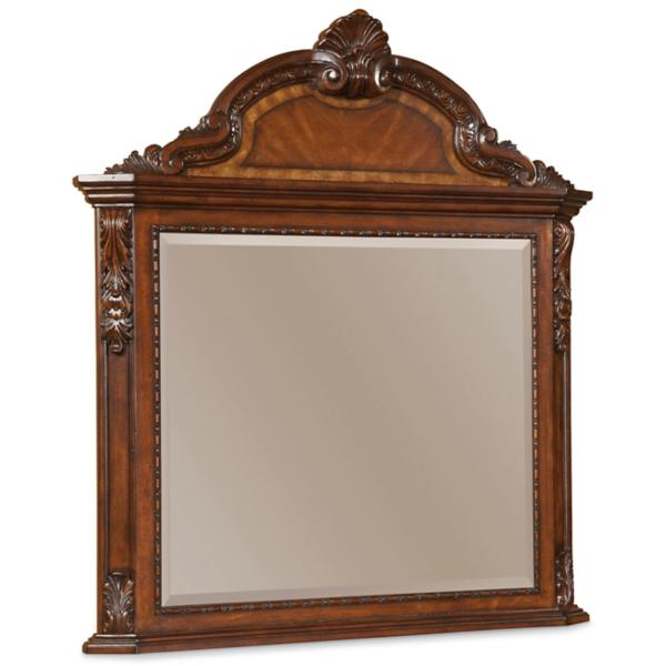 Old World Vertical Mirror