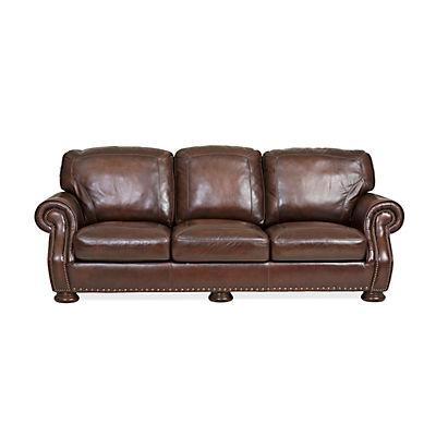 Picasso Prairie Leather Sofa