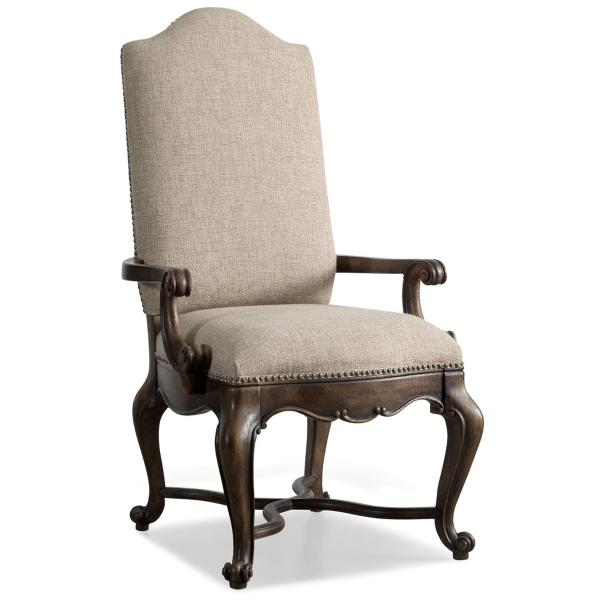 Rhapsody Upholstered Back Arm Chair