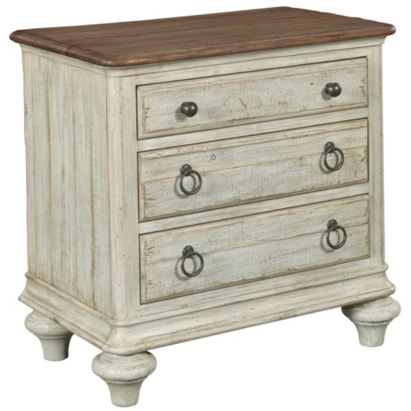 Weatherford 3 Drawer Nightstand
