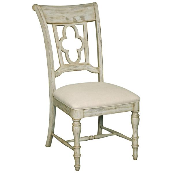 Weatherford Wood Back Side Chair