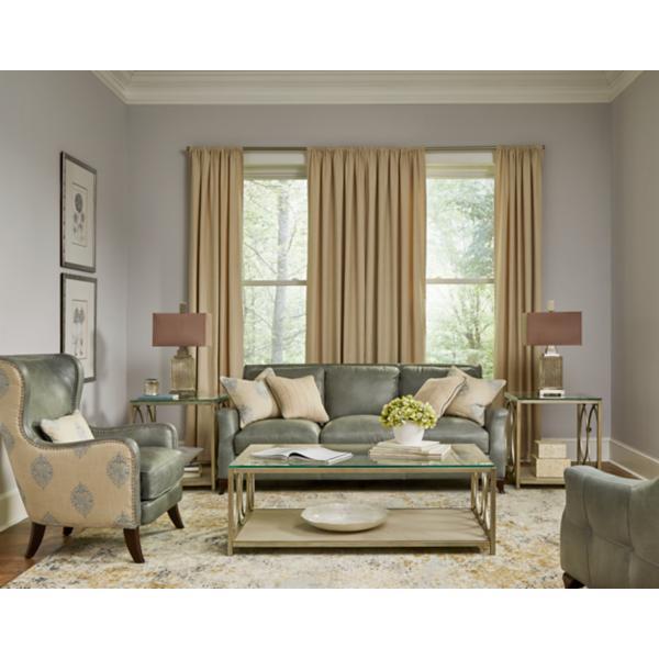Silver Lake Leather Sofa