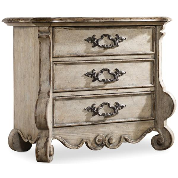 Chatelet 3 Drawer Nightstand