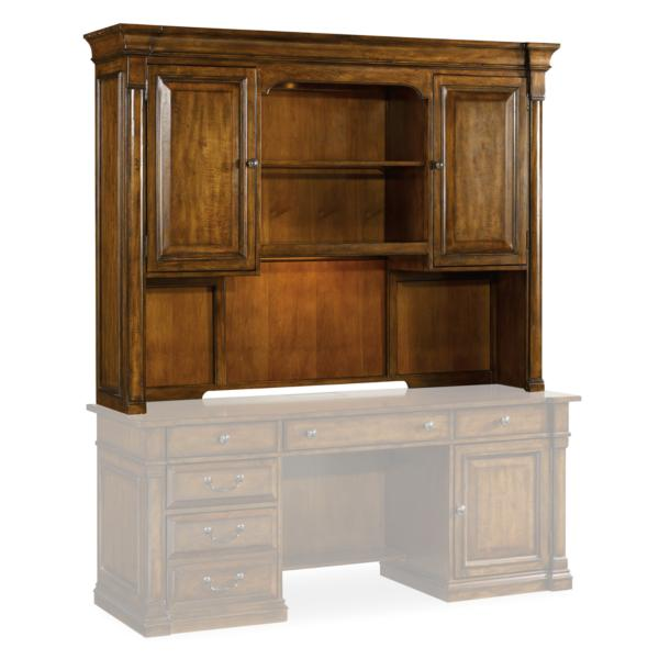 Tynecastle Hutch For Computer Credenza