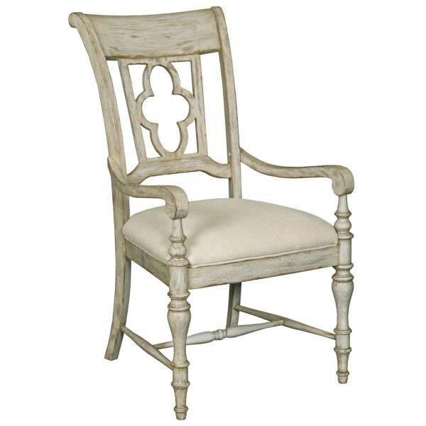 Weatherford Wood Back Arm Chair