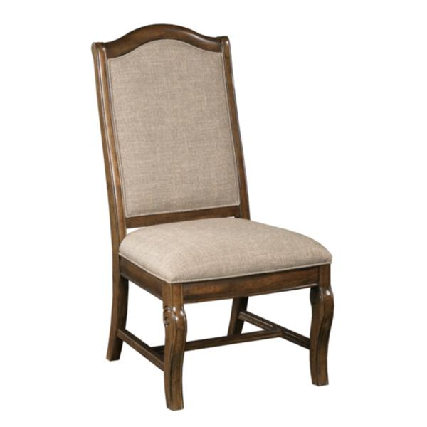 Portolone Upholstered Back Side Chair