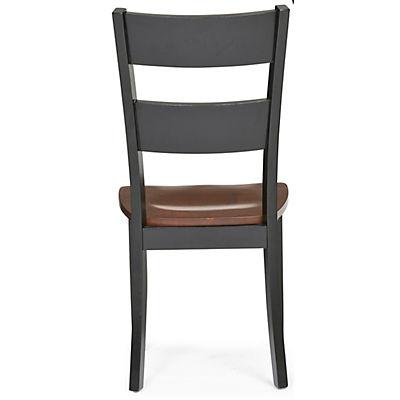 Madera Dining Side Chair - Black/Caramel Finish