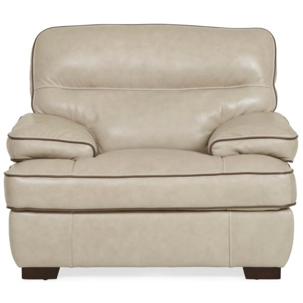 Cashmere Leather Chair - WHEAT