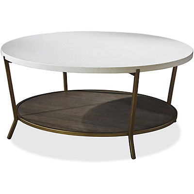 Playlist Round Coffee Table