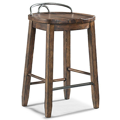 Trisha Yearwood - Cowboy Stool - COFFEE