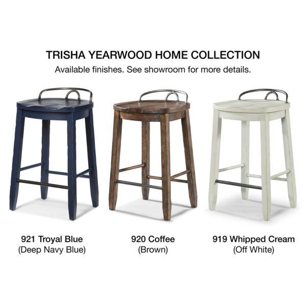 Trisha Yearwood - Cowboy Stool - COFFEE