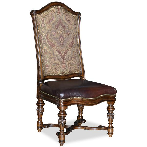 Valencia Upholstered Back Side Chair