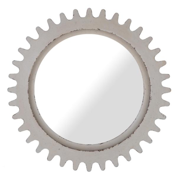 Williamsburg Round Mirror - WHITE