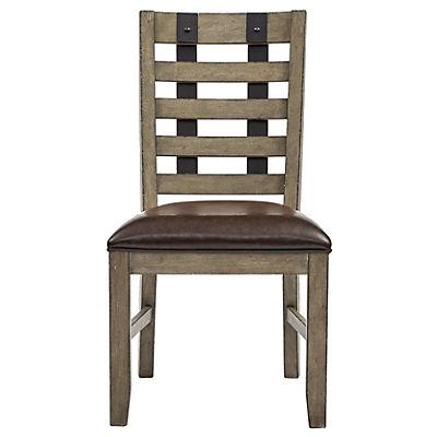 Flatbush Avenue Metal Strap Side Chair