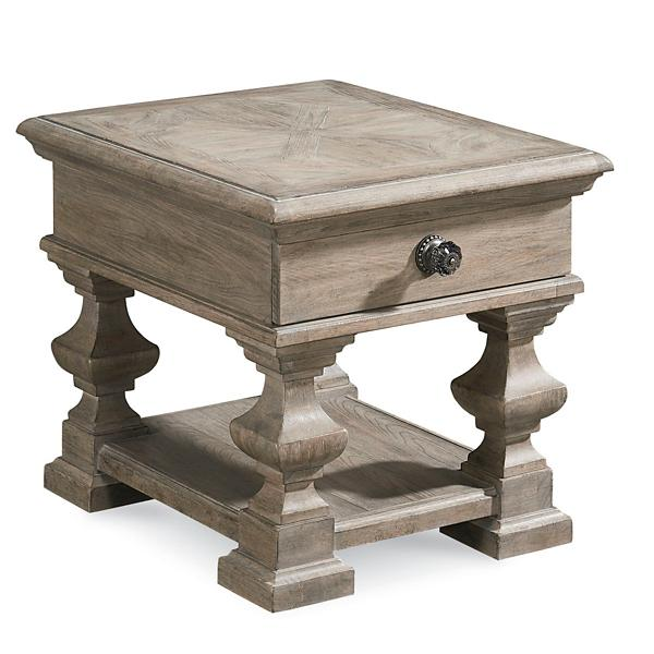 Arch. Salvage Sloane End Table