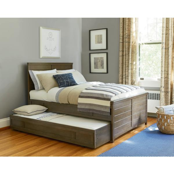 Varsity Trundle Bed/Storage Unit