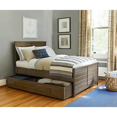 Varsity Trundle Bed/Storage Unit