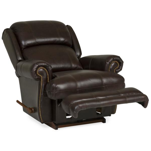 Kirkwood Leather Recliner - WALNUT
